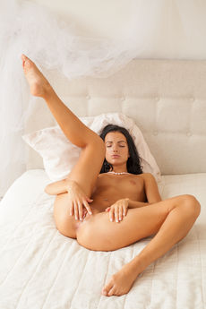 Sapphira A Nude Juicy Pink Pussy Asshole Bed Tease - Picture 11